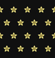 vanilla flower seamless pattern on dark background vector image