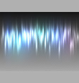 vertical rainbow colorful radiance glow pulsing vector image