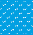 wedding doves pattern seamless blue vector image vector image
