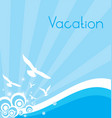 Your Vacation vector image