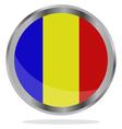 flag of romania vector image