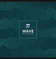 abstract blue lines wave wavy stripes pattern vector image