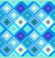 blue seamless abstract diagonal square pattern vector image