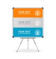 colorful board Option banner vector image vector image