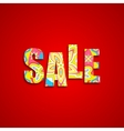 Colorful Sale vector image vector image