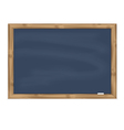 Grey chalkboard vector image vector image