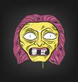 halloween character - vector image vector image