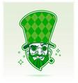 happy saint patricks day leprechaun character vector image vector image