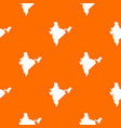 indian map pattern seamless vector image vector image