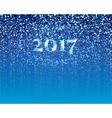 New year particle design vector image