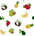 Seamless Pattern of Fruits vector image vector image
