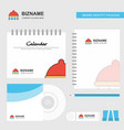 shower logo calendar template cd cover diary and vector image