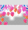 abstract colorful confetti celebration carnival vector image vector image