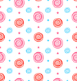 Colorful Seamless Pattern with Lollipops Swirl vector image vector image