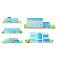 dental clinic hospital dentist office buildings vector image