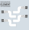 element for infographic template geometric figure vector image