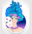 gemini astrological sign as vector image
