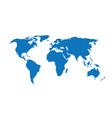 globe earth 13 vector image vector image