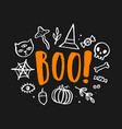 halloween cute vector image vector image