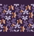luxury style elegant nature leaves motif vector image