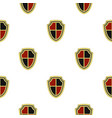 medieval shield pattern flat vector image