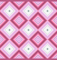 pink repeating diagonal square tile mosaic vector image vector image