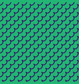 wave geometric seamless pattern 1501 vector image