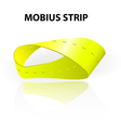 Mobius strip vector image