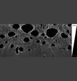 broken spiderweb 3d grid dynamic particles vector image