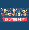 Day of dead traditional mexican halloween dia de