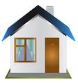 One-storeyed house vector image