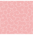 Pink lace pattern with spirals vector image vector image
