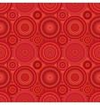 repeating circle mosaic pattern background vector image vector image