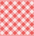 seamless sweet pink background - checkered pattern vector image vector image