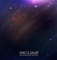 stars filled in sky background vector image vector image