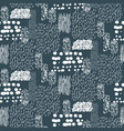 stitch abstract texture blue repeat seamless vector image