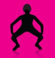 Girl Twerking vector image vector image