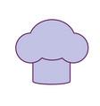 hat chef kitchen utensil to cuisine vector image