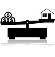 House price vector image vector image