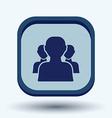 silhouette of a men social media vector image