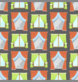 window curtains seamless pattern background room vector image vector image