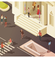 Government People Isometric vector image