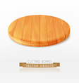 cutting board isolated on a white background vector image