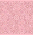 geometrical circle pattern background - seamless vector image vector image