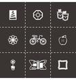 Handmade icon set vector image vector image