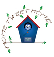 Home tweet home vector | Price: 1 Credit (USD $1)