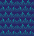 japan wave patternGeometric stylish background vector image vector image