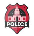 Police law enforcement badge