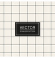 seamless geometric simple pattern thin vector image vector image