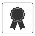 Award medal icon gray 2 vector image